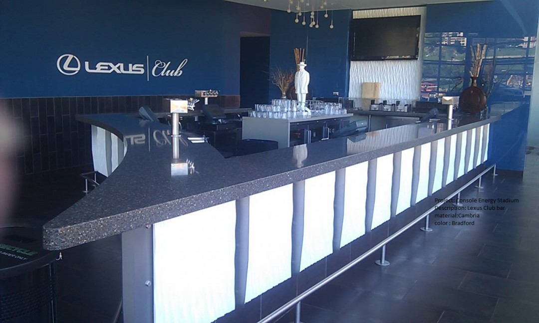 Consol Arena Lexus Club bar