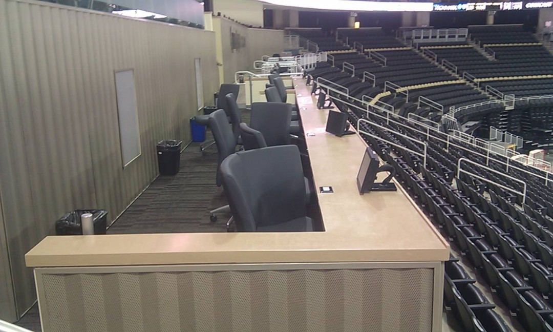 Consol Arena Press box