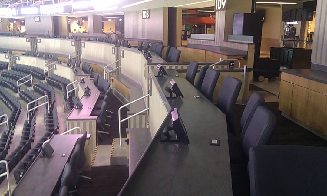 Consol Arena Press box long view