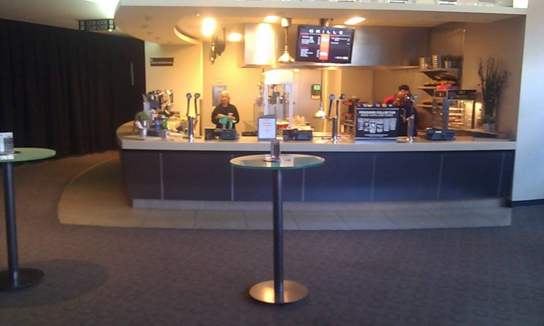 Consol Arena satelite concession stand