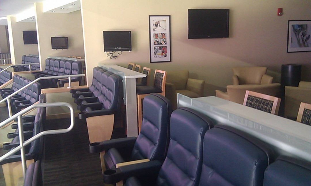 Consol Arena suite view area