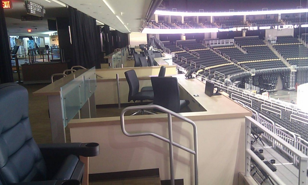 Consol Arena view level