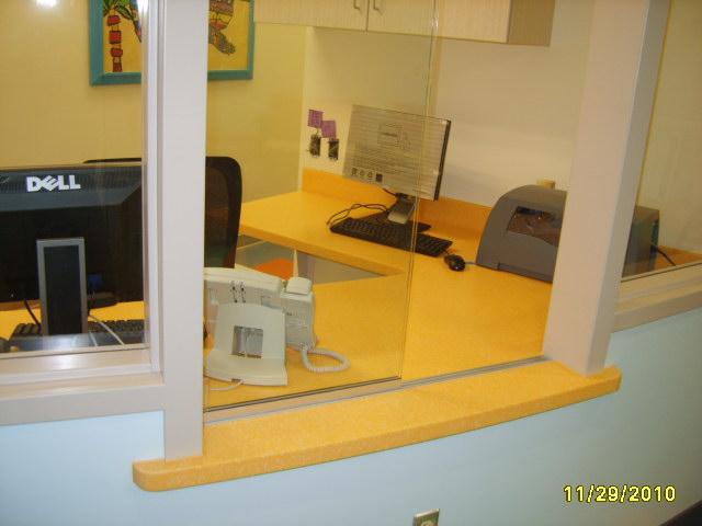 administration desk