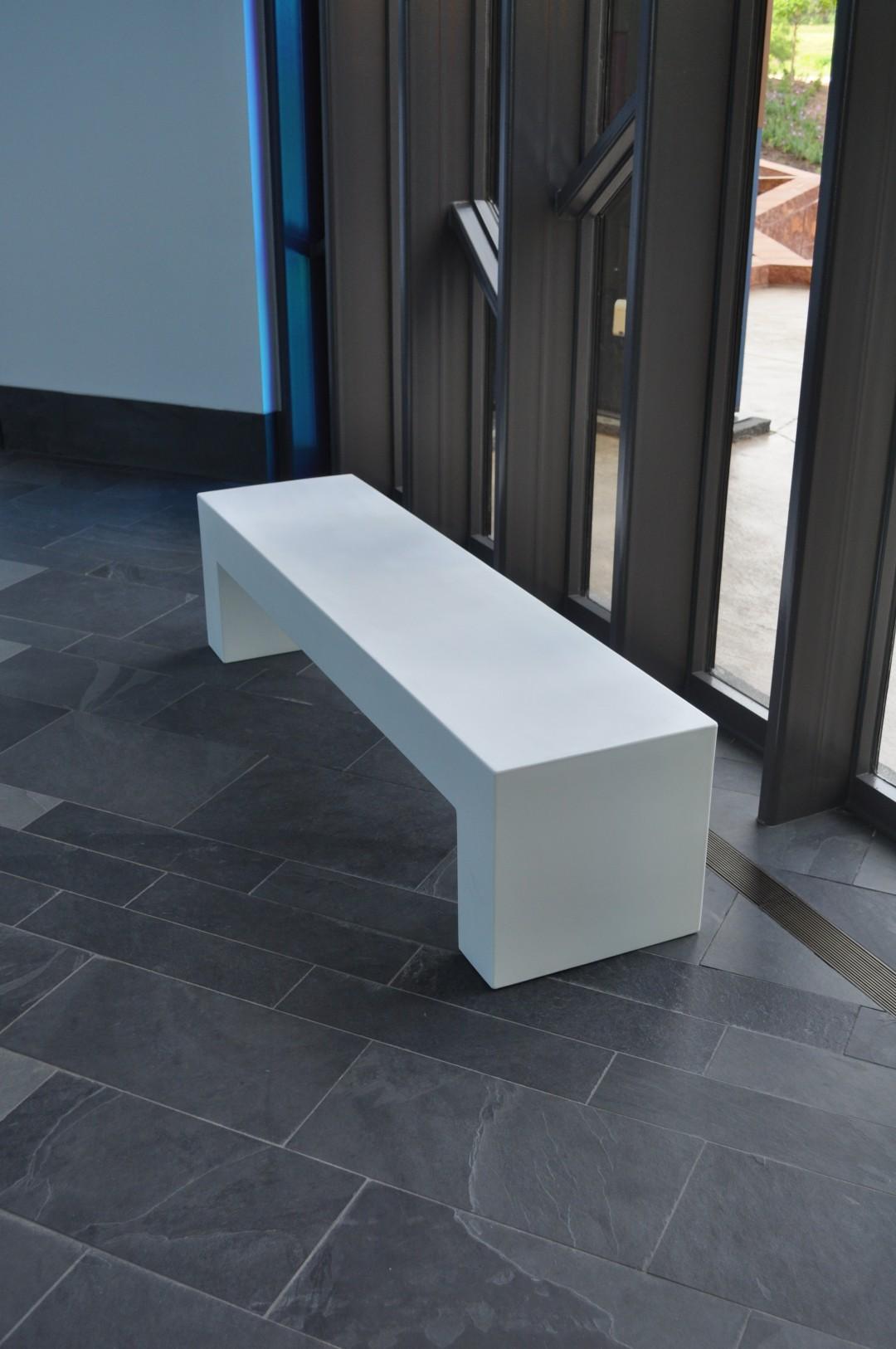 quartz bench seat